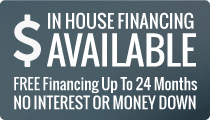 Free financing up to 24 month